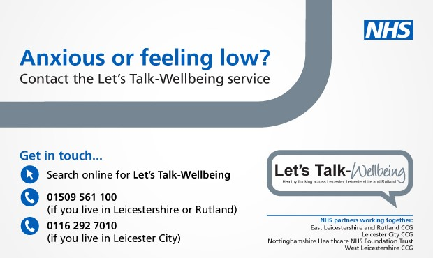 lets talk wellbeing